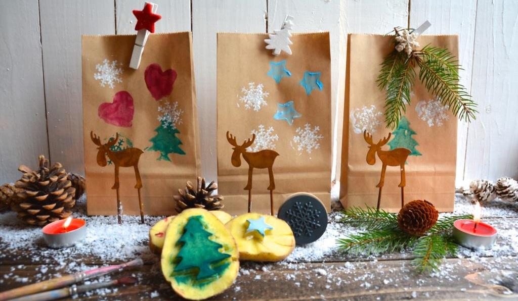 geschenke nachhaltig verpacken kartoffelvielfalt. Black Bedroom Furniture Sets. Home Design Ideas